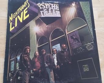 Nighthawks - Nighthawks Live - AD 4110 - 1976 - 138 gram pressing - NM!