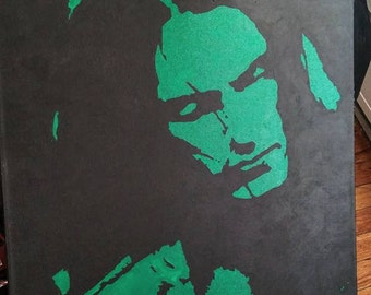 Peter Steele painting, 24x36