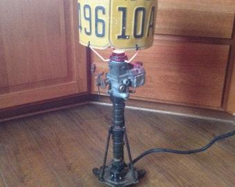 Junkyard Lamp