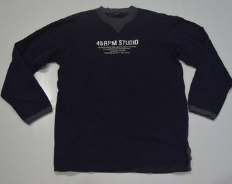 45RPM forty five RPM studio pullover shirt sweater