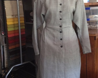 Reproduction 40s Wool Dress size 12