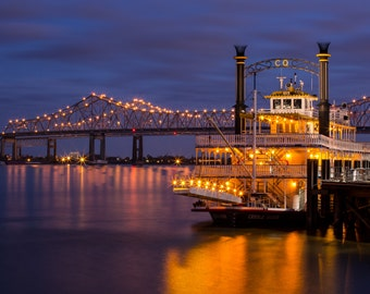 Creole Queen at Dusk landscape photography print