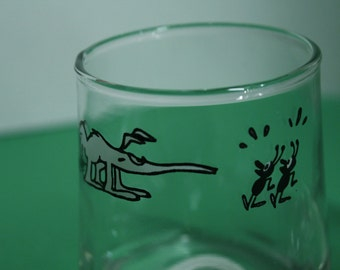 BC Comic Strip Ice Age drinking/collectible Glasses