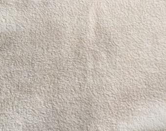 Tan Fleece Fabric, Anti Pill Fleece Fabric