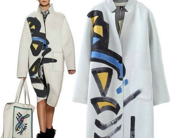 Light jacket with print