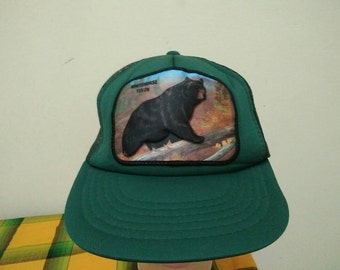 Rare Vintage WHITEHORSE YUKON 3D Cap Hat Free size fit all