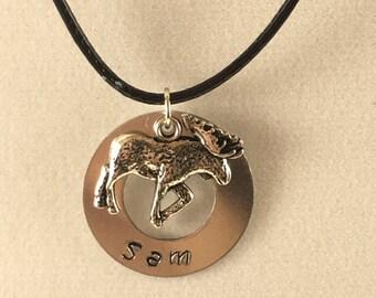 Supernatural Sam Moose Necklace