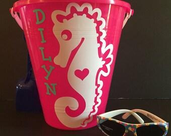 Personalized Beach Buckets