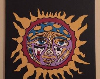 Sublime Sun Album Cover Painting