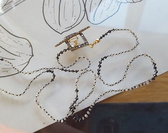 Hand Knotted Diamond Necklace