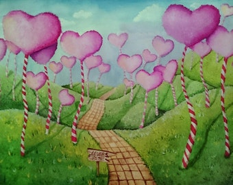 Lovers Path (print)