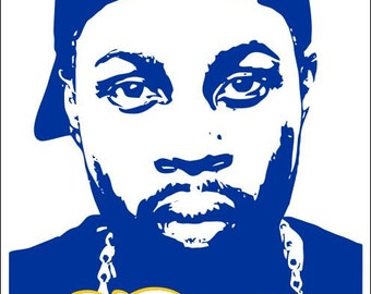 J Dilla Poster Jay Dee Picture Silhouette Slum Village Choose from five different sizes