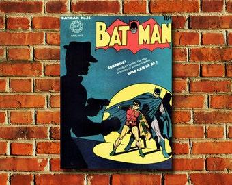 Batman Comic Book Cover Poster - #0720