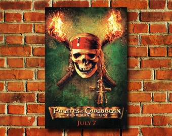 Disney Pirates Of The Caribbean Movie Poster - #0726
