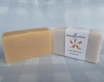 Organic Goats Milk Soap - Unscented