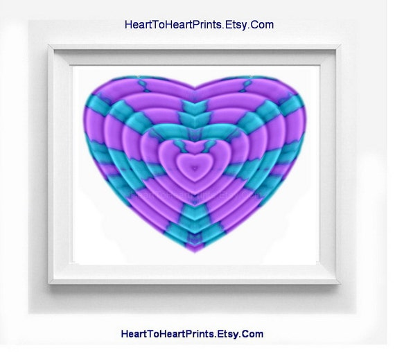 Purple mint wall decor purple bedroom by hearttoheartprints for Bedroom gifts for her