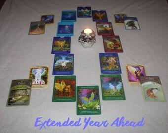 Extended Year Ahead Tarot Reading
