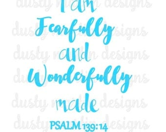 I am Fearfully and Wonderfully made .studio file