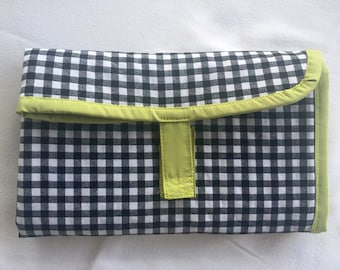 Diaper changing pad-padded with pockets
