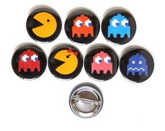 Pac Man Button Assortment Pack