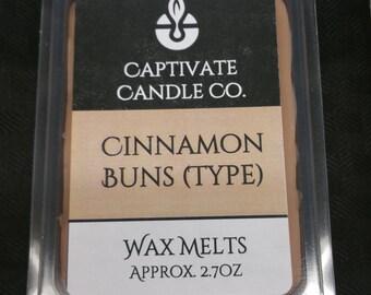 Cinnamon Buns Type Wax Melt / Tart / Aroma / Clamshell / Gift