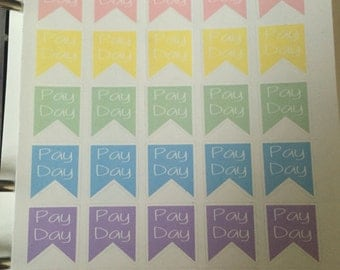 P30 // Pay Day Stickers