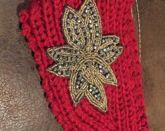 Red fashion headband
