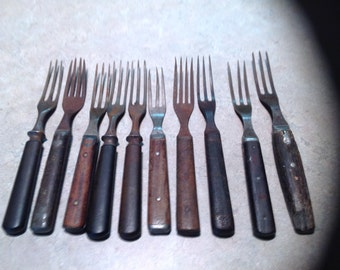 Antique/vintage forks