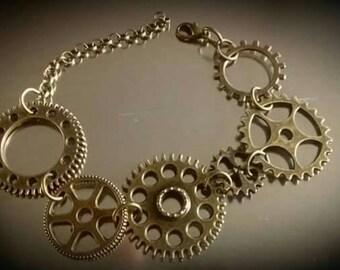Steampunk Bracelet-Creative Vibration Design