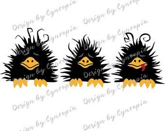 Three raven plot