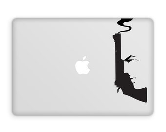 Dirty Harry Vinyl Decal - Clint Eastwood, Dirty Harry Prints, Laptop Stickers