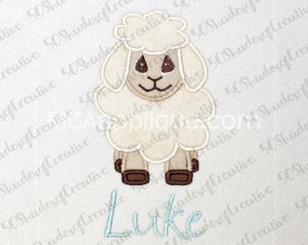 Lamb/Sheep Applique Design