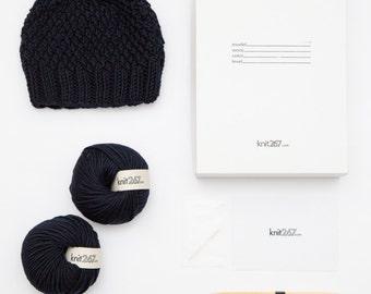 DIY Kit Hat 100% Italian Merino