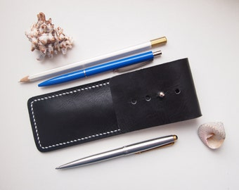 Leather case for pen