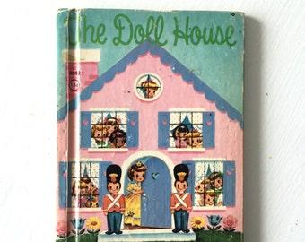 THE DOLL HOUSE Hardback Children's Book Vintage