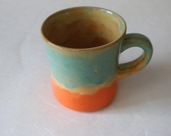 Seafoam and Sunrise Mug