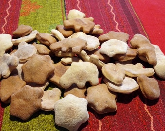 Natural homemade dog biscuits-delicious with meat