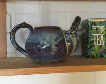Australian Signed  Pottery Teapot