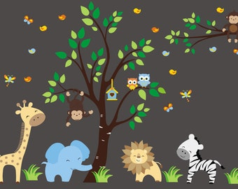 Nursery Wall Decals Kids Room Wall Stickers By