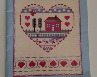 Its The Thought That Counts Book of Counted Thread Cross Stitch by Gloria & Pat