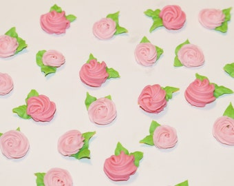 Valentine Sugar flower mini roses