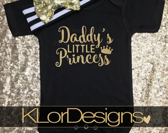 Daddy's Princess, new dad gift, baby Girl outfit, daddy's girl, Father's day present, New dad, first time dad