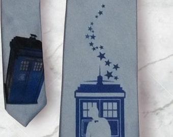 Doctor Who Matt Smith TARDIS Necktie