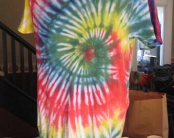 Classic Rainbow Swirl Tie Dye Shirt #2~Pride Month~LGBTQ~Men's M