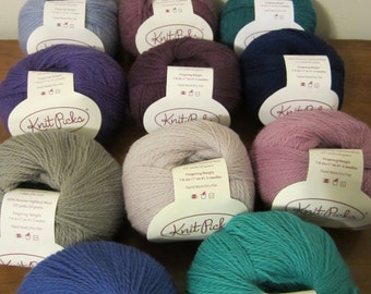 Palette by Knit Picks - Various Colors - 100% Peruvian Wool