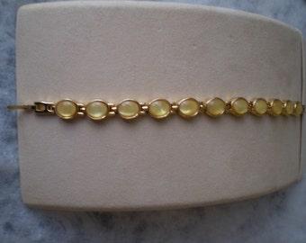 Vintage Gold Luster Bracelet