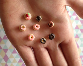 Polymer Clay Miniature Donuts