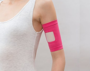 Care+Wear Ultra-Soft Antimicrobial PICC Line Cover, Fuchsia