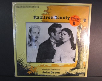 Raintree County,Complete Original Soundtrack, music by John Green, Elizabeth Taylor, Sound Stage recording 2-2304, sealed 2LP set