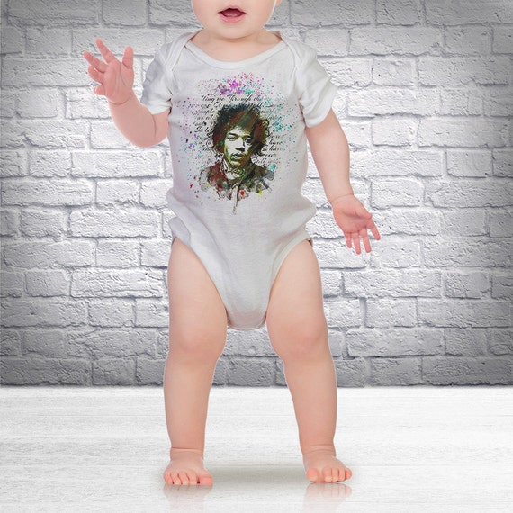 Jimi Hendrix One-Piece (one-sie) - Newborn / Infant Clothing